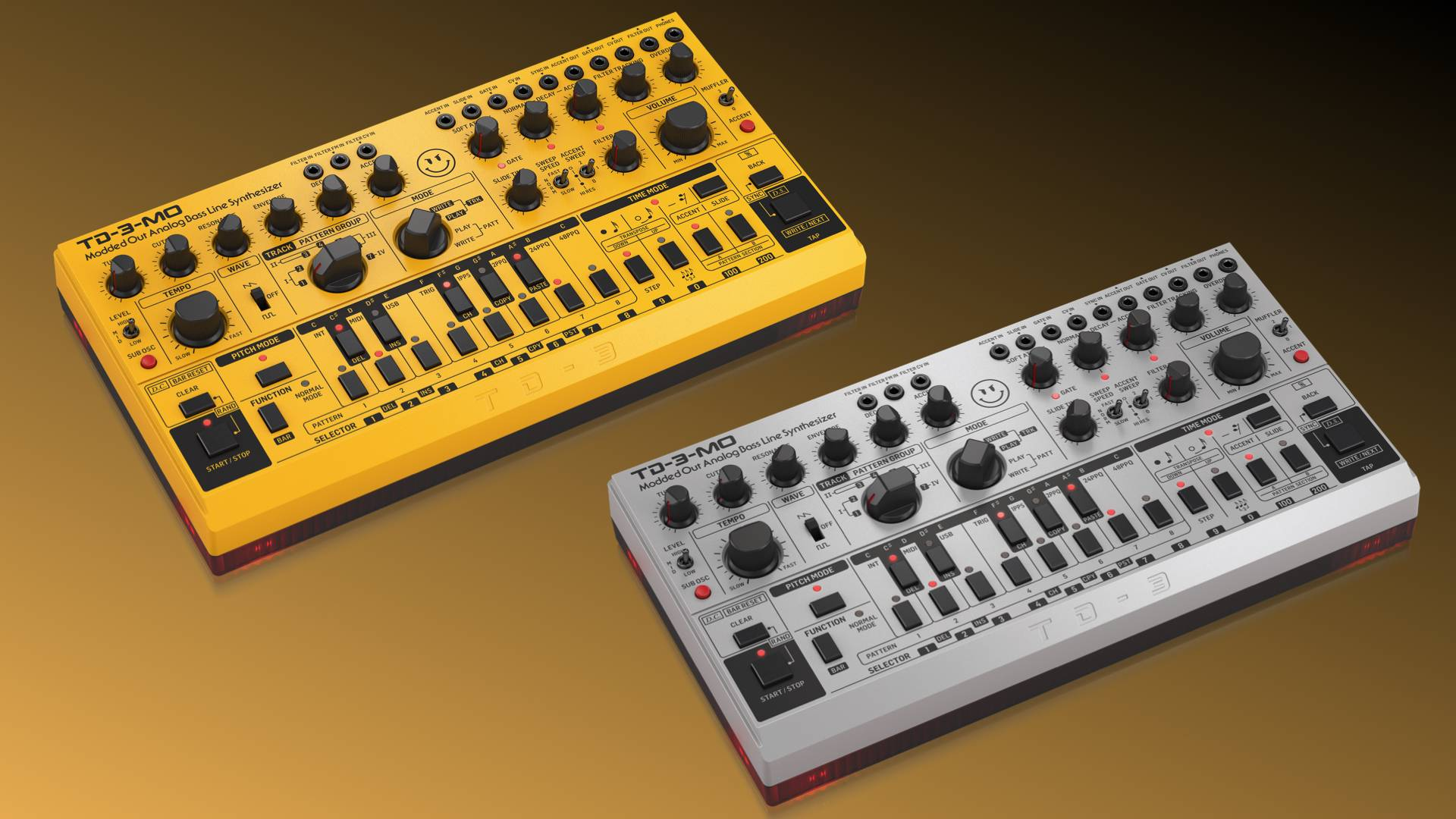 Behringer presents a new modified version of their TD-3