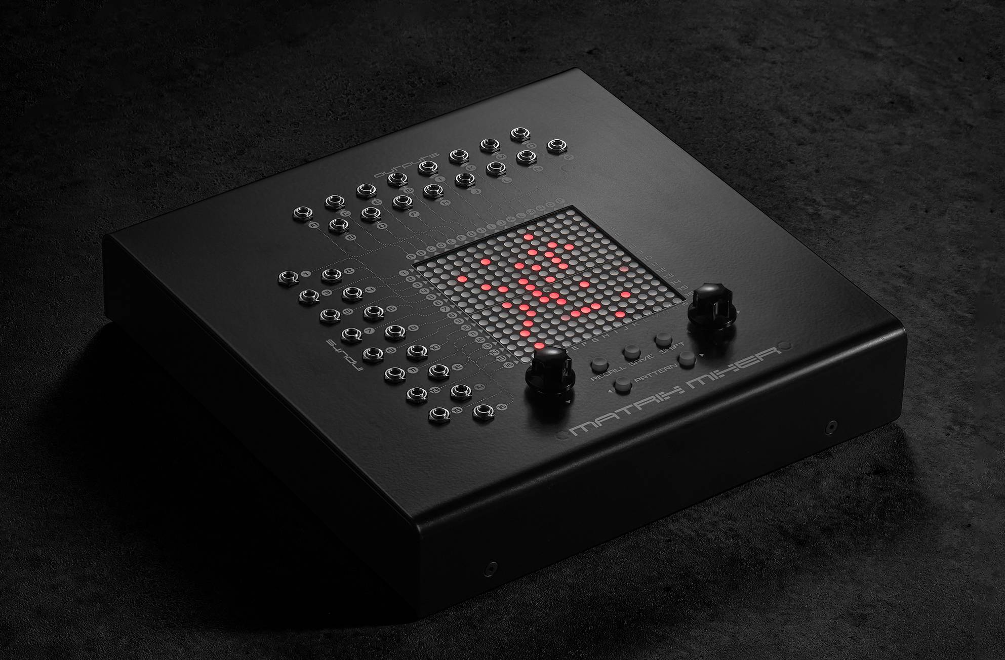 Erica Synths Matrix Mixer claims to be able to re-patch your Eurorack system