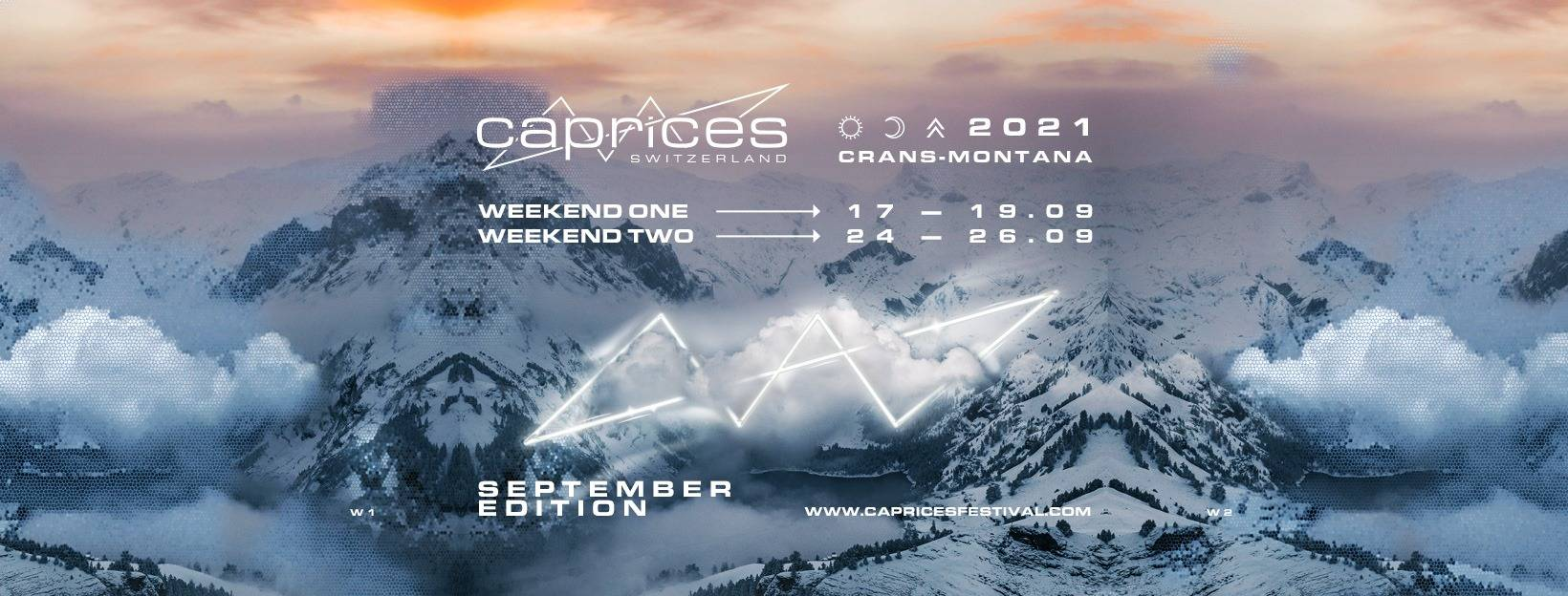 Caprices Festival will have its 2021 edition in September