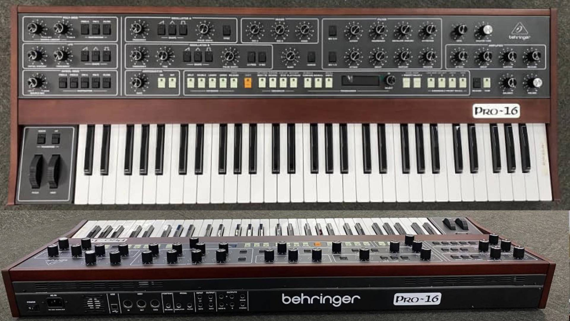 Behringer employs Sequential's Prophet synthesizer design
