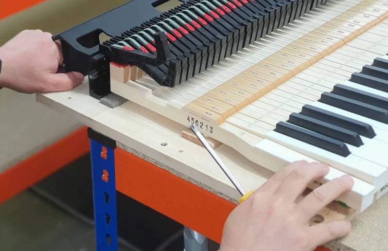 Rhodes has released images of their new electric piano