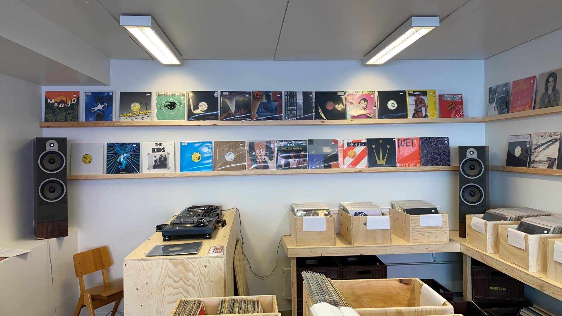 OK Sound Helsink, the new record shop open in Finland