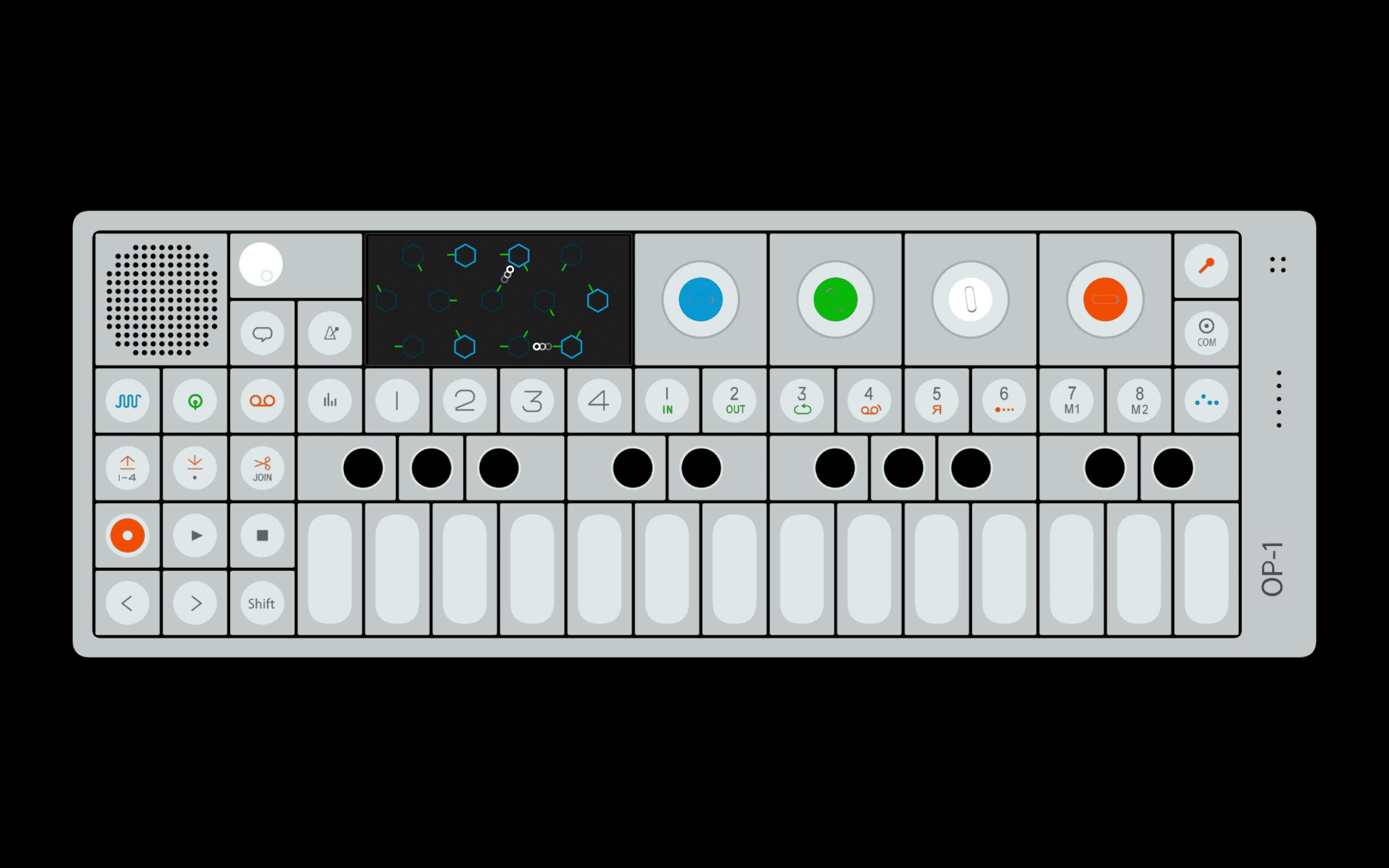 Teenage Engineering's OP-1 may be used now as USB audio interface