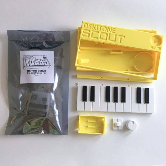 Oskitone Scout is an open-source synthesizer that you may construct yourself