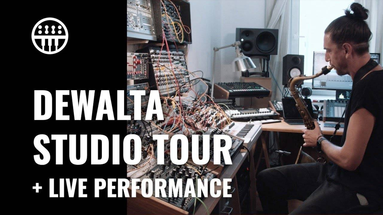 Thomann presents DeWalta's live performance and studio tour