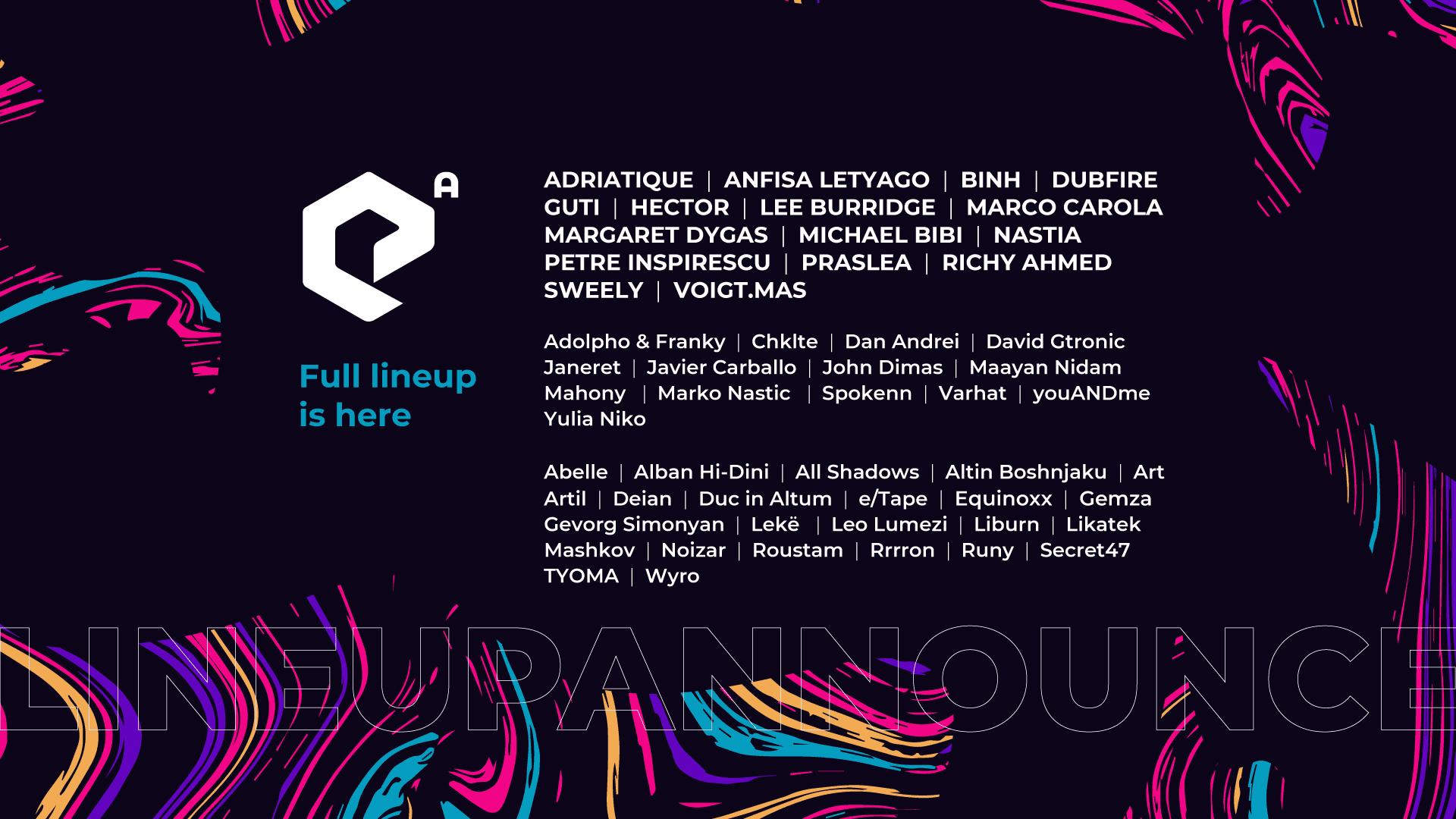 Epizode Albania announces their full lineup