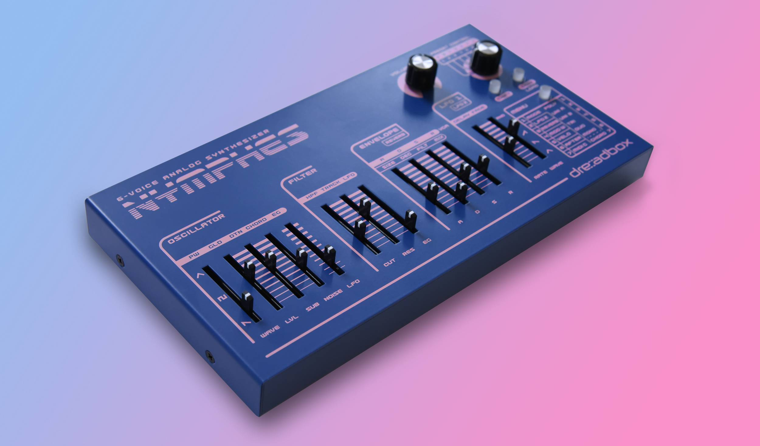 Nymphes is the new six-voice analog synth from Dreadbox