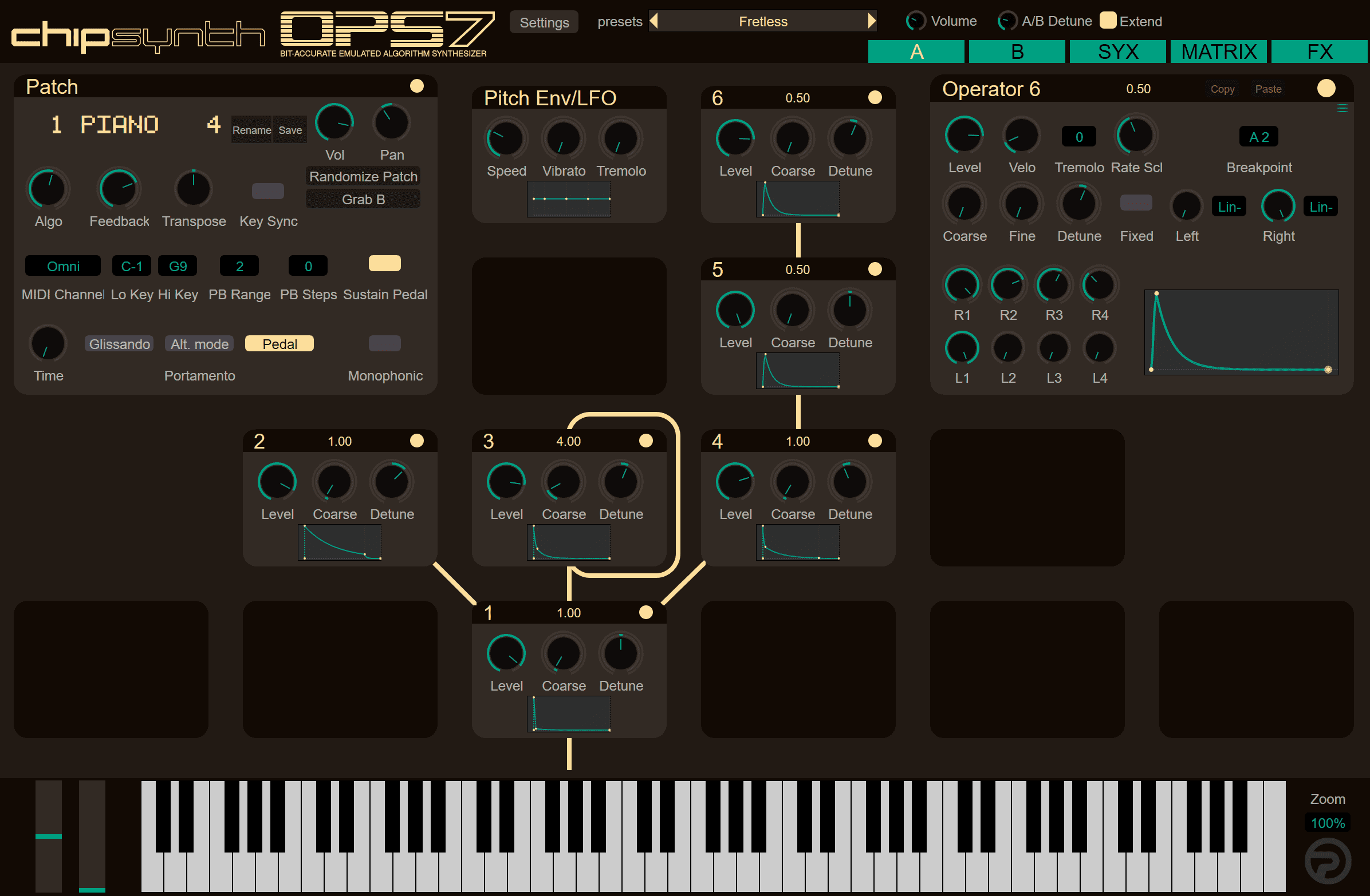 Plogue's OPS7 synth plugin may be the most authentic Yamaha DX7 reproduction ever