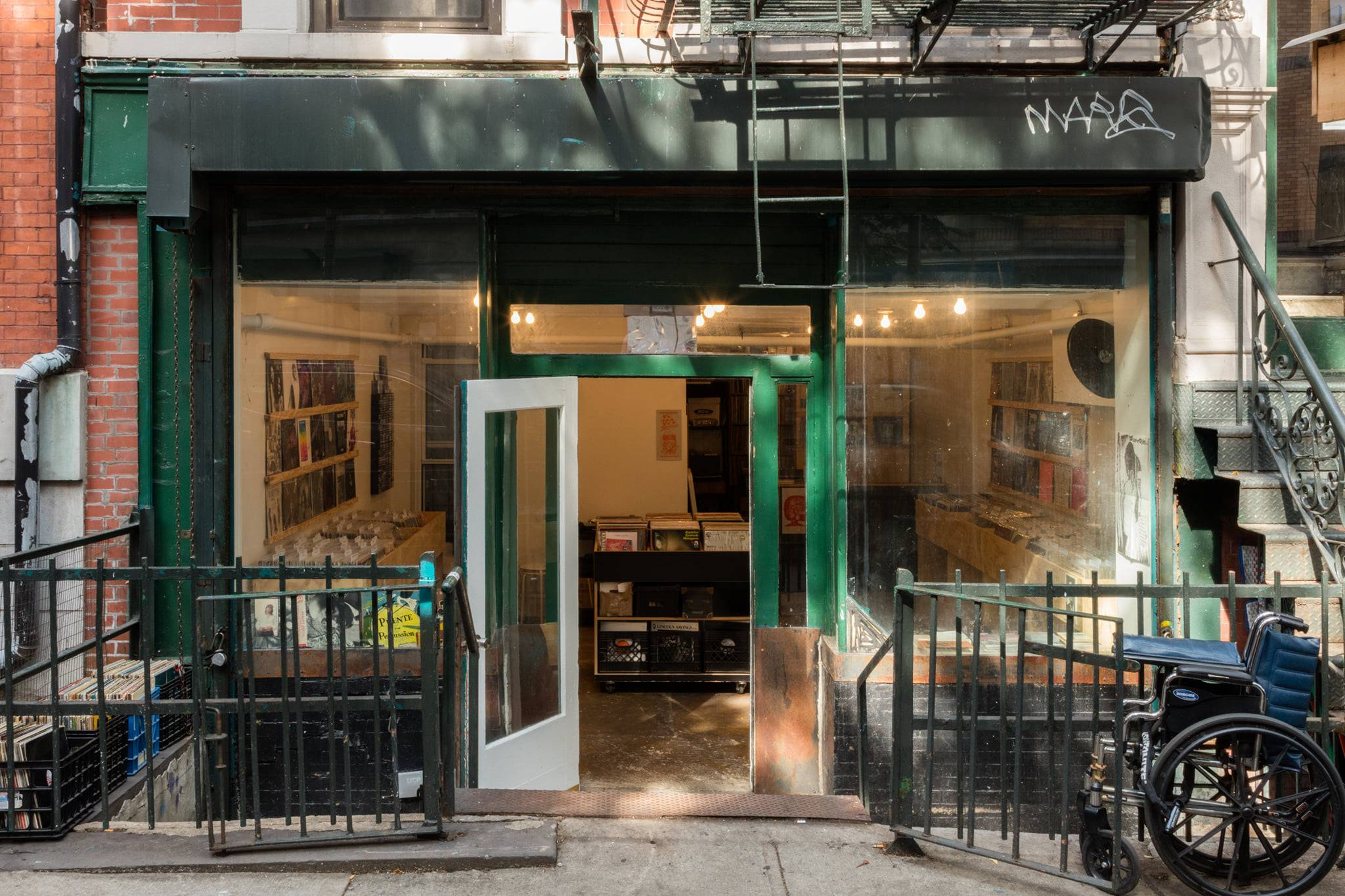 Ergot Records opens a record store in New York